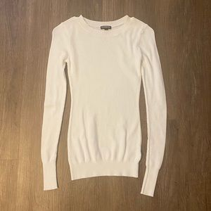 Express White Sweater - Size XS